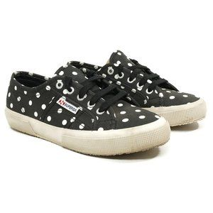 Superga Womens Polka Dot Low Top Sneakers Size 7.5